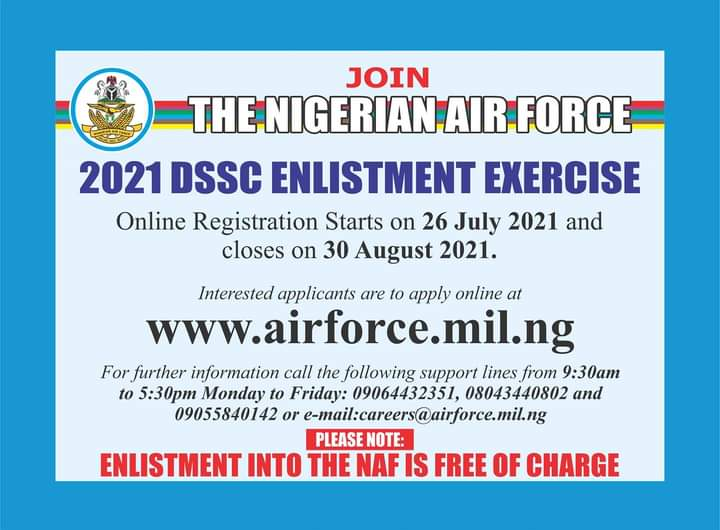 Application Guidelines For Dssc Enlistment. Please Read The Instructions Careful