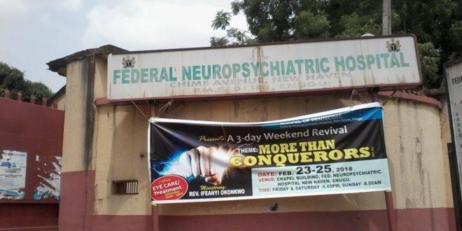 Medical Internship Vacancies At Federal Neuropsychiatric Hospital, Enugu