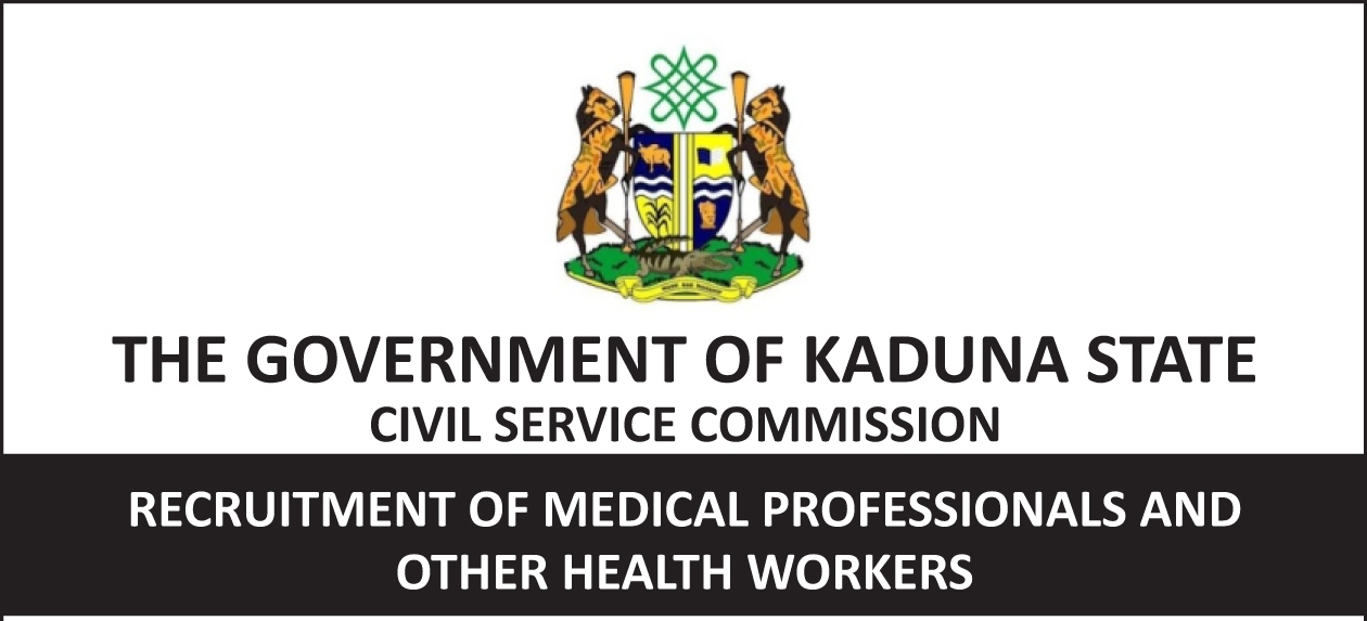 Kaduna State Medical Jobs Recruitment